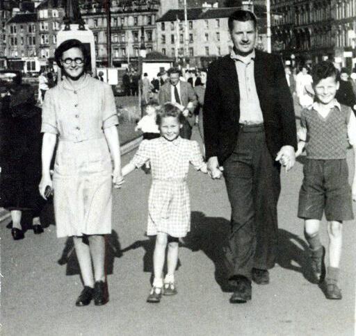 Cathie Irvine,1940s