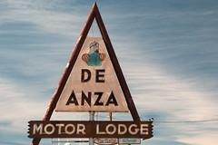 De Anza Motor Lodge (El Rancho Photo) Tags: newmexico vintage route66 albuquerque motel signage canon5dmarkiii