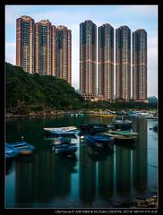 P5020068-HDR (YKevin1979) Tags: longexposure reflection hongkong olympus coastline    hdr omd 918 tseungkwano  f456    micro43 microfourthird 918mm lehdr mzuiko triggertrap olympus918mmf4056 em5ii em5m2