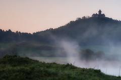 Wachsenburg - Drei Gleichen (Rainer Schund) Tags: cloud nature fog sunrise germany thringen nikon nebel natur foggy thueringen thuringia morgen morgens morg dreigleichen wachsenburg thuringe nikond700 naturemasterclass natureexploring