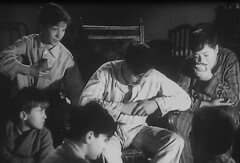 Plans to return (theirhistory) Tags: uk food london film boys kids children war wwii kinderen crime gb ww2 1942 adults pyjamas villians bfilm johntacchi