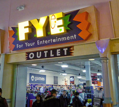 FYE Outlet... (Nicholas Eckhart) Tags: usa retail mi america mall us interior auburn hills massive stores outlets greatlakescrossing outletmall 2016