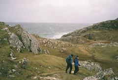 Achmelvich Bay (Tom Spearing) Tags: film 35mm landscape photography coast scotland mju superia olympus ii 400 fujifilm xtra