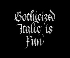 Gothicized Italic is Fun.