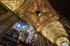 Basilica di Santa Maria Maggiore (BK_L) Tags: italy rome church gold star mural geometry
