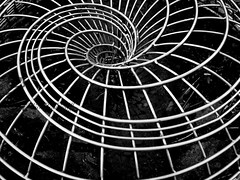 Steel Spiral (View From The Chair Photography) Tags: abstract spiral steel shape