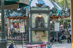 Carousel (itsmrhorton1) Tags: new york city newyorkcity newyork manhattan park midtown nyc bryant bryantpark carousel ride merrygoround