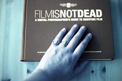 film (La fille renne) Tags: film analog 35mm book lomography hand turquoise canonae1program 50mmf18 filmisnotdead lomochrome lafillerenne lomochrometurquoise lomochrometurquoisexr100400