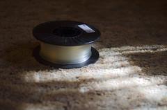 Filament (Theron Trowbridge) Tags: california ca 3d belmont plastic printing filament pla