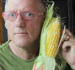 The corn whisperer (minnetonkafelix) Tags: corn healing whisperer nonenvironmental