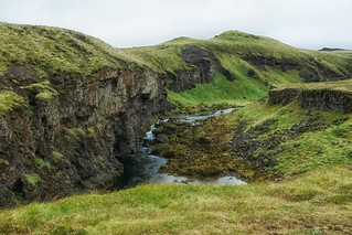 The stream in Iceland