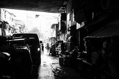 Underpass (Daniel Y. Go) Tags: street bw underpass mono fuji philippines manila slum pinas kalye xpro2 fujixpro2