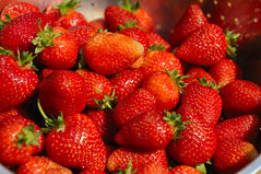 strawberries (yaro del fuego) Tags: red fruits strawberry strawberries