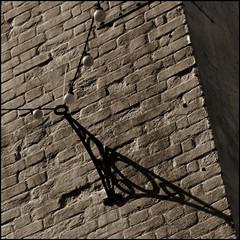 bracket, shadows, lights, Fowey (Philip Watson) Tags: shadow wall lights cornwall bracket bulbs lamps fowey