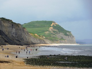 The Jurassic Coast at Charmouth