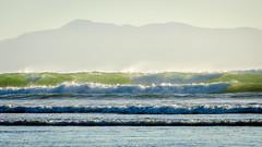 Oreti Beach (Kathrin & Stefan) Tags: ocean newzealand beach nature water island outdoor wave spray southisland tasmansea nzl invercargill rakiura stewartisland foveauxstrait oretibeach
