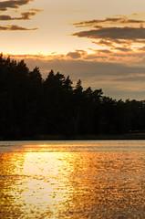 IMG_8994 - Kopie (2)And2more_tonemapped-1 (Andre56154) Tags: sunset sky sun lake water clouds see wasser sonnenuntergang forrest sweden schweden himmel wolken ufer sonne wald schren