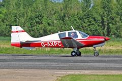 G-AXPC Beagle B121 Srs 1 T.A.White  Sturgate Fly In 05-06-16 (PlanecrazyUK) Tags: sturgate egcs fly in 050616 lincoln aero club ltd gaxpc beagleb121srs1 tawhite flyin