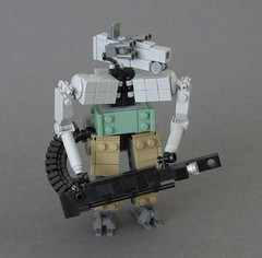 Huntsman (Dryvvall) Tags: robot tank beck aaron walker armor bipedal mech drone