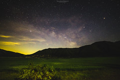 Hercules' 6th Labor (SotirisS.) Tags: light lake colors birds canon way stars ancient long exposure labor wide greece astrophotography pollution 28 milky hercules 6d 14mm samyang stymfalia