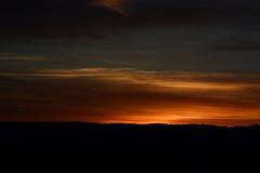 Luces de carretera (I) (Cristina Campos Fraile) Tags: road travel viaje sunset shadow espaa sol de landscape spain puesta ocaso sombras horizonte nikond5200