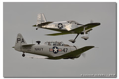 CAF French Wing - Fly'In 2016 (Laurent CLUZEL) Tags: classic vintage airplane french cub nikon force aircraft air north wing american vans 28 piper 70200 caf texan commemorative t6 snj rv6 j3 d610 vrii