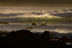 love waves ..love light (Deborah Kelland) Tags: light sea seaside surf waves surfer