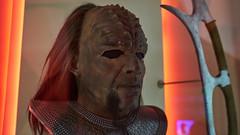 EMP Museum - Star Trek 03 (Thor Hanks) Tags: startrek mask creepy scifi klingon worf emp ridges makup stng