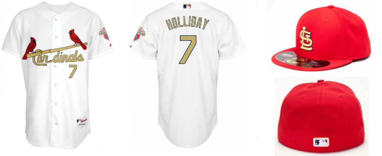 0d8c7924f32b St. Louis Cardinals announce gold-trimmed jersey for opener to ...