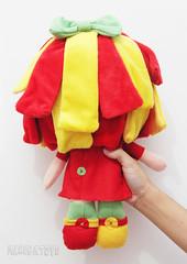 Cabelinhos da Emilia (Maenga Toys - Cris Corra) Tags: toys doll bonecas emilia feltro personagens costuras toyart maenga