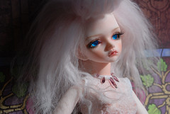 Rose (Sioux the Moo) Tags: pink rose bjd dim msd littlematchgirl luria faceup dollinmind bubblegoth