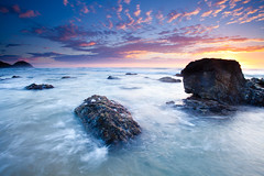 A Little Bit Isolated (James.McGregor) Tags: sunset beautiful coral rock sunrise canon heaven colours sydney australia oasis filter lee nsw newsouthwales hitech portmacquarie coffsharbour 1740l gnd 5dmk2