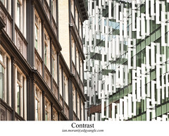 Contrast. Liverpool (Ianmoran1970) Tags: new old reflection building architecture contrast glossy ianmoran ianmoran1970