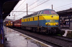 NMBS 5505 Liège Guillemins (Davy Beumer) Tags: nmbs l36 l42 l43 hld55