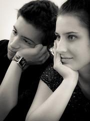 Me abuurooo.... (Cathy_SBD) Tags: canon blackwhite luca pareja andrea bn retratos g12 ltytr1 cathylerida
