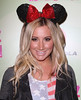 Ashley Tisdale Perez Hilton's Mad Hatter Tea Party Birthday Celebration held at Siren Studios Hollywood, California