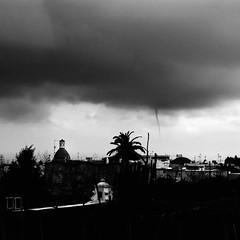 """A """"Cor' 'i zfere"""" (tornado marine) in Anacapri's sea (Alessandro Scoppa) Tags: storm rain clouds capri nuvole tornado pioggia homedecor fineartphotography tempesta framedpictures anacapri interiordecor trombadaria capriisland trombamarina isoladicapri capriphotos alessandroscoppa capriphotographer fotografocapri caprifineartphotography"""