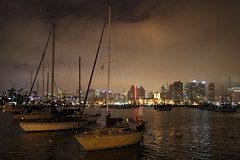 San Diego Harbor at night (San Diego Shooter) Tags: cityscape sandiego uncool sandiegobay downtownsandiego sandiegoharbor sandiegocityscape uncool2 uncool3 uncool4 uncool5 uncool6 uncool7