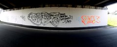 VK Skep (Grimey  Trains) Tags: street canada art vancouver graffiti bc gt burner hollow skep throwup vk eksel