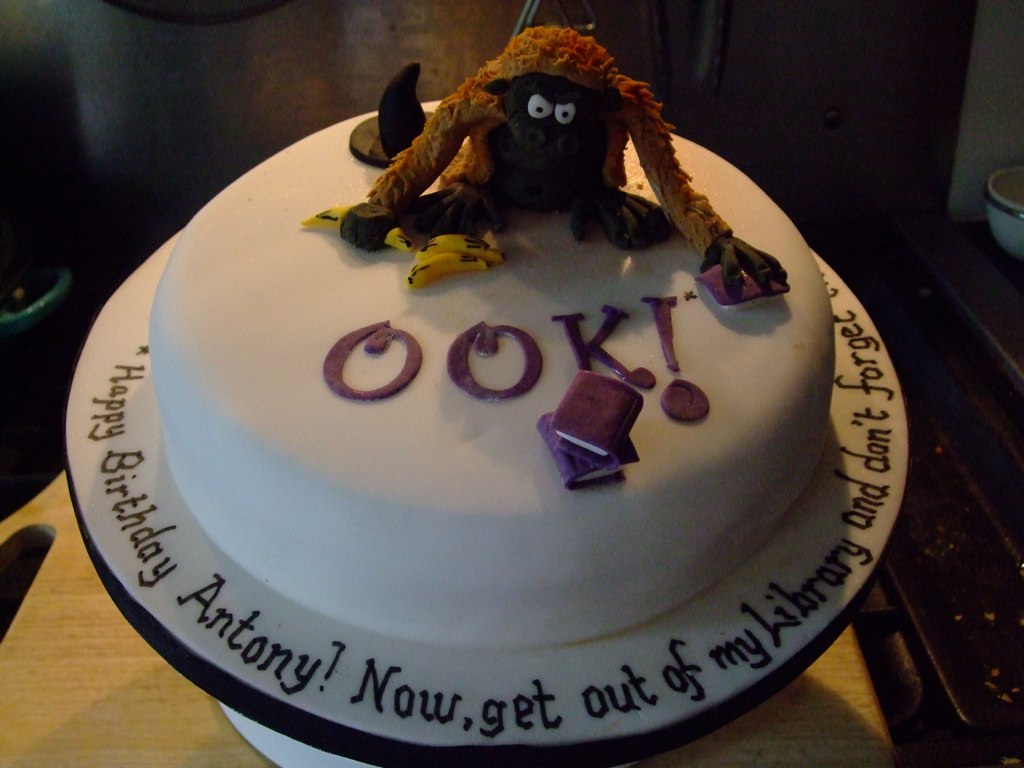 Discworld Birthday Cake