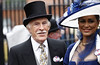 Sir Bruce Forsyth and his wife Wilnelia Merced Royal Ascot at Ascot Racecourse - Ladies Day, Day 3 Berkshire, England