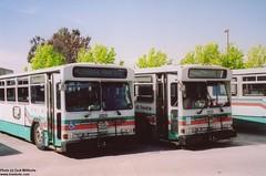 1993 Gillig 6V92T40102 Phantom #2829 and 2812 (busdude) Tags: sf muni transit phantom ac gillig