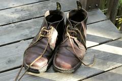 Dr Marten Chukkas (muteboy) Tags: leather boots worn drmarten chukkas