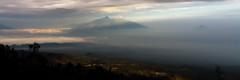 Java. Sunrise at Bromo. (Markus Hill) Tags: travel mountain berg sunrise canon indonesia landscape island java asia asien wideangle landschaft bromo indonesien vulcano 2012 vulkan