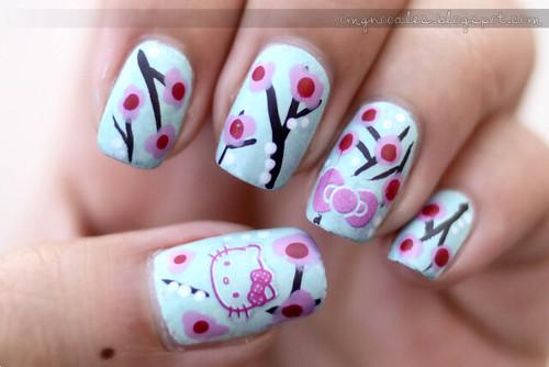 Hello Kitty x Cherry Blossoms