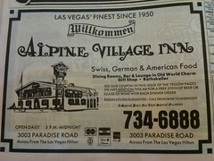 Alpine Village 1990 (frankasu03) Tags: las vegas restaurant 60s village retro alpine 80s 70s 50s 90s eateries