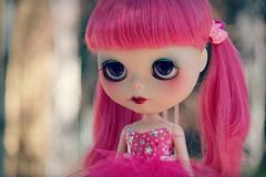 Lucky Star (marzipandaizy) Tags: pink ballerina blythe custom tulle tutu ih ichigoheaven chinalillycustom