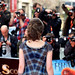 Julie Fowlis facing the press on the red carpet for the European premiere of Brave at the Festival Theatre
