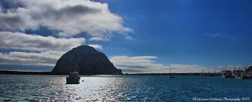 Panorama Morro Bay Harbor