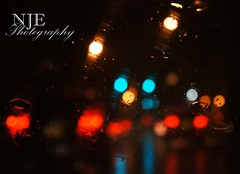 rainy street bokeh (NJEphotography) Tags: light ohio summer storm cars water car rain photography lights evans cool pretty traffic sweet bokeh sony awesome stormy rainstorm windshield alpha taillight nex columbiana nje nex5 nex5n payacom njephotography